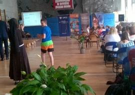 3. miejscem spotkania była klimatyzowana sala gimnastyczna